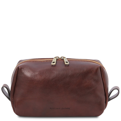 Owen - Leather toiletry bag | TL142025
