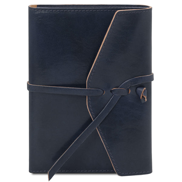 Leather journal / notebook | TL142027 -  www.sanroccoitalia.it - Travel leather accessories