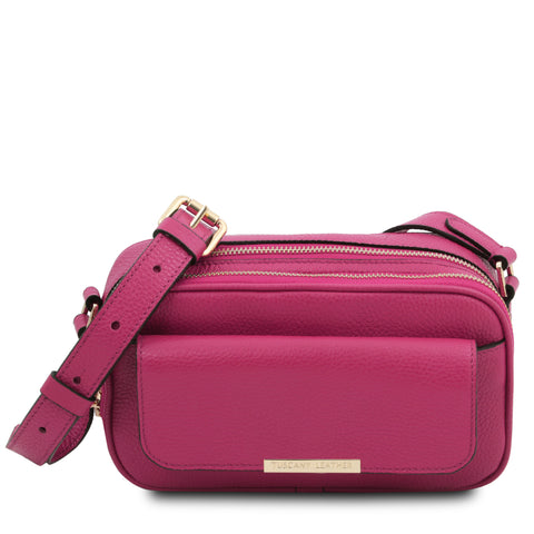 TL Bag - Leather camera bag | TL142084 -  www.sanroccoitalia.it - Leather handbags