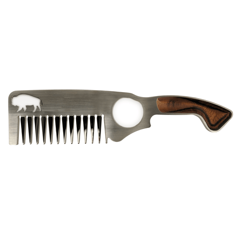 Bisson Hair & Beard Comb No.2 -  www.greatgifts.online - Combs