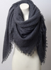 Warm Open Weave Navy Blue Blanket Scarf -  www.sanroccoitalia.it - Jewelry & Watches