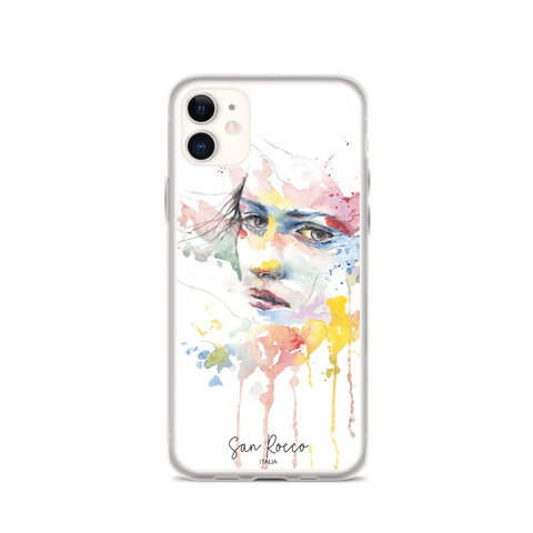 Watercolour Woman Flexible iPhone Case -  www.greatgifts.online - Phone Case