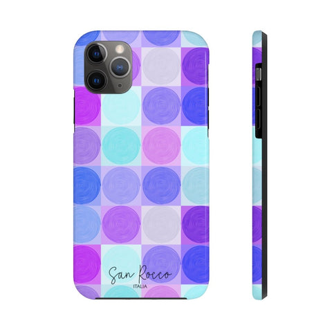 Purple Circles Case Mate Tough Phone Case -  www.greatgifts.online - Phone Case