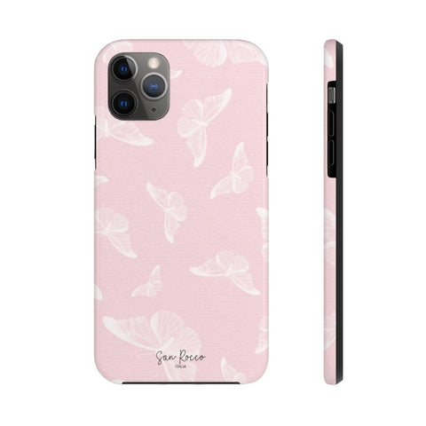 Pink Butterfly Case Mate Tough Phone Case -  www.greatgifts.online - Phone Case
