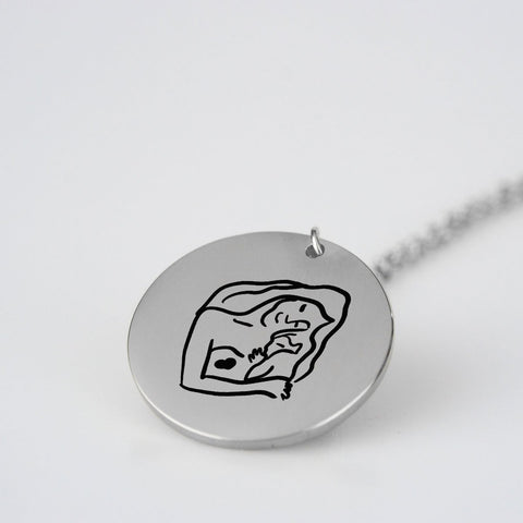 Mother and Child Pendant  - Style 2 -  www.greatgifts.online - pendant