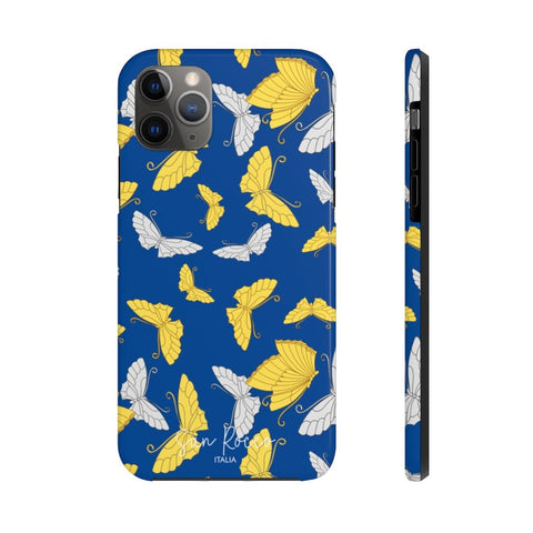 Blue Butterfly Case Mate Tough Phone Case -  www.greatgifts.online - Phone Case