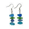 Hoodoo Beach Glass Earrings