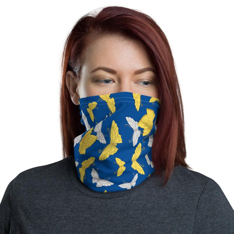Blue Butterfly Neck Gaiter -  www.greatgifts.online - Accessories