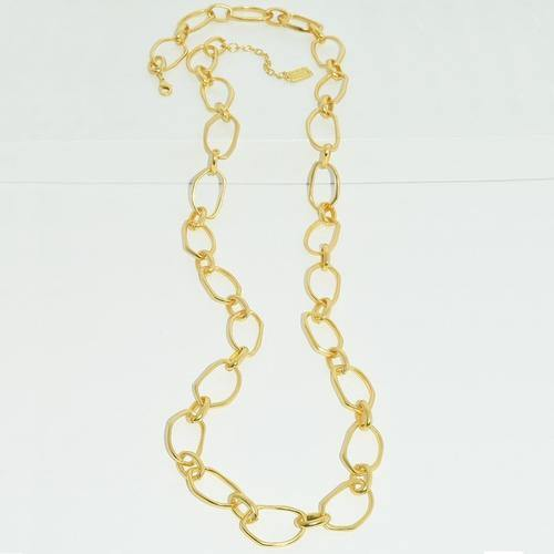 Irregular Link Long Necklace
