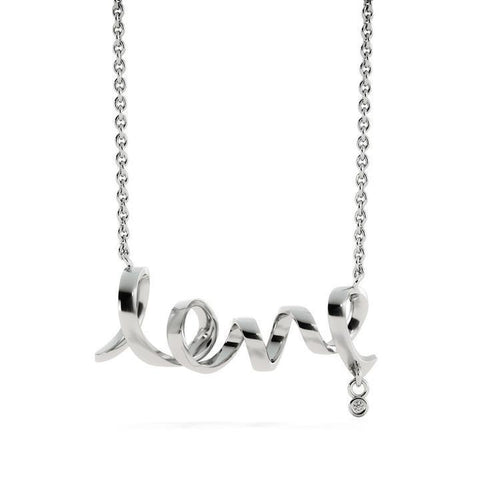 Dainty Love Necklace -  www.greatgifts.online - Jewelry