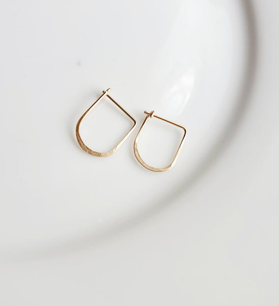 Mini Gold Jesse Hoops