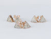 White triangle earrings -  www.sanroccoitalia.it - Earrings