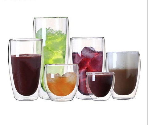 Double Walled Glasses | 80/150/250/350/450 ml