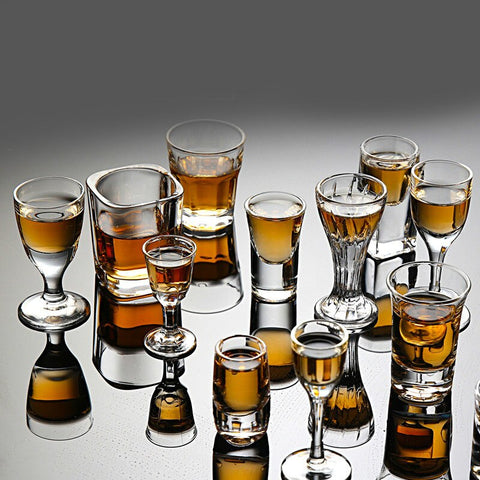 Shot Glasses | 8-50 ml 2/4/6/8 pieces
