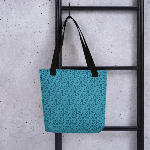 Teal Logo Tote Bag -  www.sanroccoitalia.it - Accessories