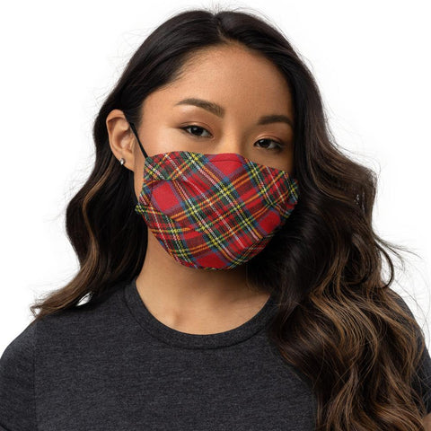 Tartan face mask -  www.sanroccoitalia.it - Face Mask