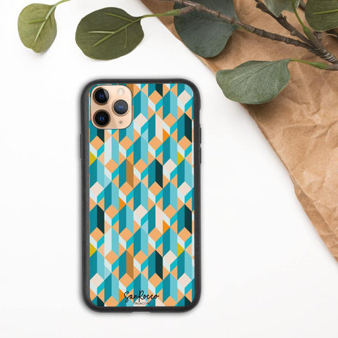 100% Biodegradable Bauhaus iPhone Case -  www.sanroccoitalia.it - Phone Case