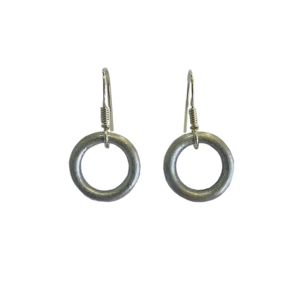 Recycled Bomb Circle Earrings -  www.sanroccoitalia.it - Earrings