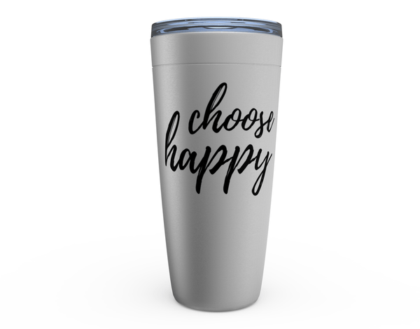 Choose Happy Viking Tumblers - 20 oz (591 ml) -  www.sanroccoitalia.it - Drinkware
