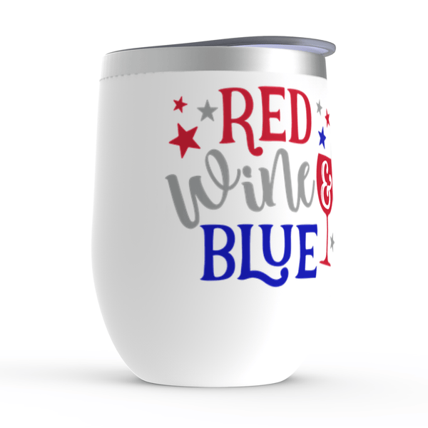Red Wine and Blue Stemless Wine Tumblers -  www.sanroccoitalia.it - Wine Tumbler