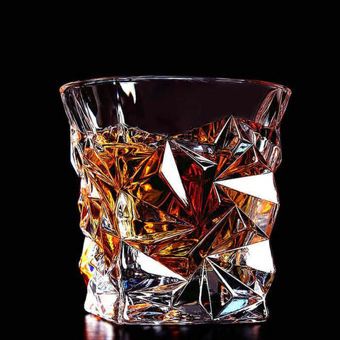 Modern Lead-free Crystal Whisky Glass - Variety of Designs