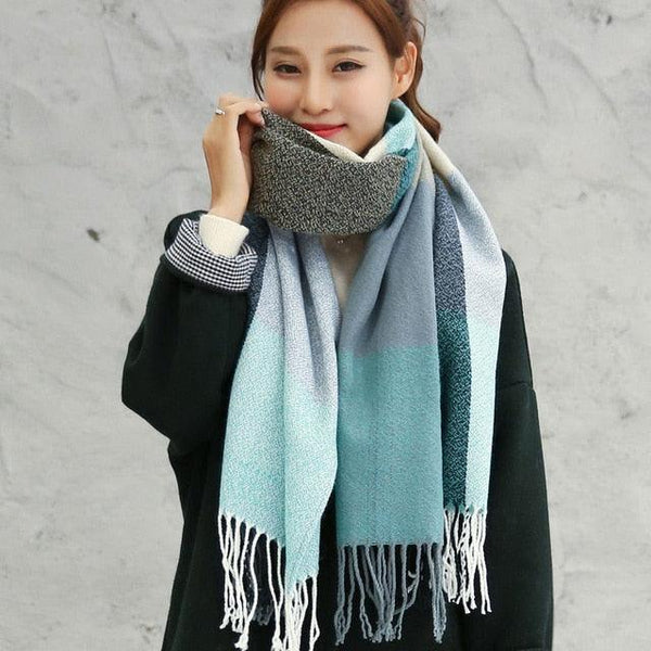 Long Warm Shawl / Scarf