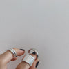 Glossy 925 Sterling Silver Rings -  www.sanroccoitalia.it - Jewelry