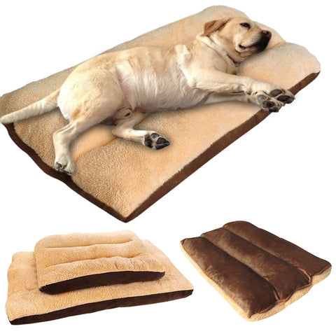 Warm Plush Pet Bed - Perfect for Medium/Large Dogs -  www.sanroccoitalia.it - Pet products