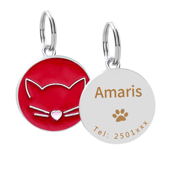 Personalised Cat ID Tag -  www.sanroccoitalia.it - Pet products