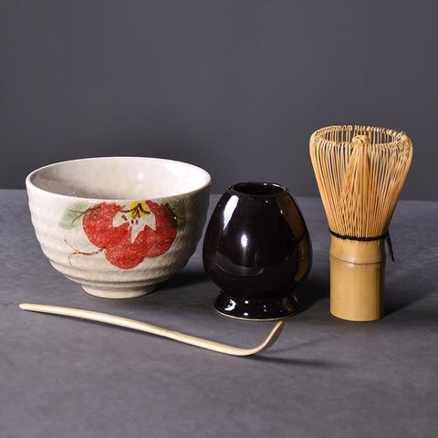 4-piece Traditional Matcha Tea Set -  www.greatgifts.online - Dinnerware