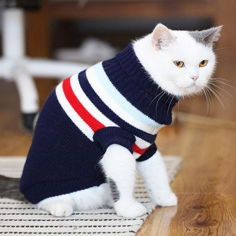 Winter Sweater for Small Dogs/Cats -  www.sanroccoitalia.it - Pet Clothing