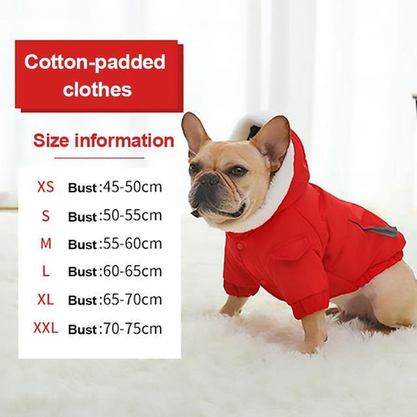 Warm Jacket For Small and Medium Dogs -  www.sanroccoitalia.it - Pet Clothing