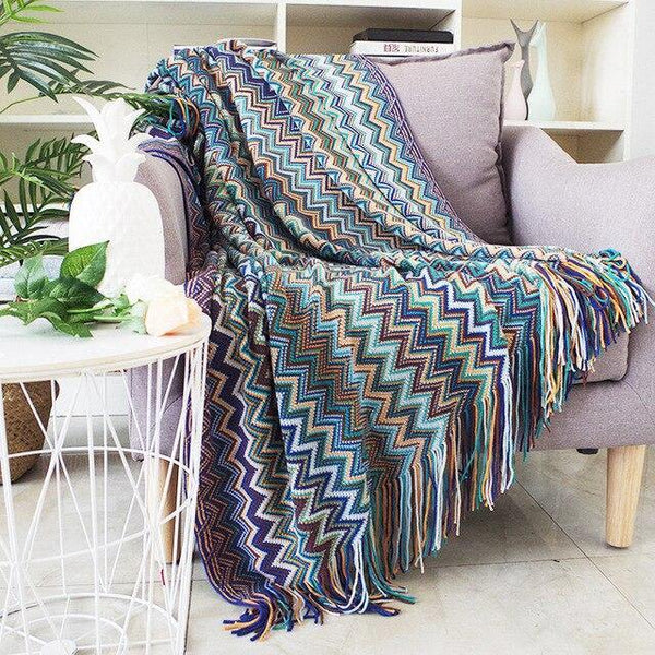 Soft Zig Zag Throw Blanket -  www.sanroccoitalia.it - Home