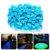 Glow In Dark Decorative Outdoor Pebbles -  www.sanroccoitalia.it - Garden