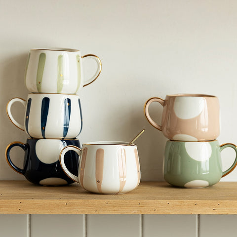 Pastel Breeze Mugs