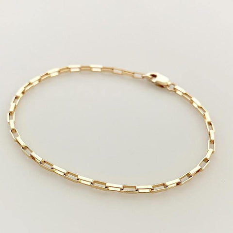 14K Gold Filled Chain Bracelet - Handmade - Jewelry & Accessories - Bracelets -  sanroccoitalia.it