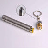 Stainless Keychain Flashlight Torch