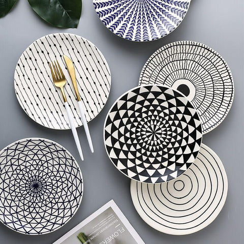 Creative Geometric Plates -  www.sanroccoitalia.it - Dinnerware