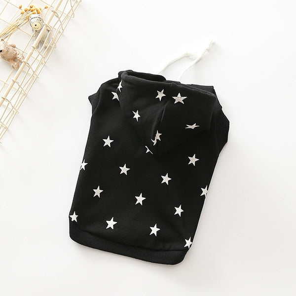 Star Hoodie for Small and Medium Dogs or Cats -  www.sanroccoitalia.it - Pet Clothing