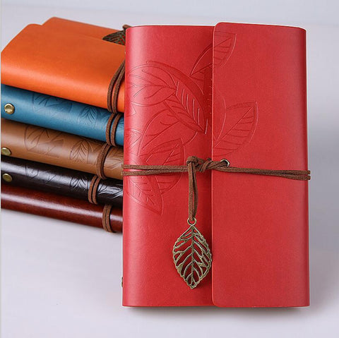 Retro 6-Ring Notebook - A6 -  www.greatgifts.online - Journal