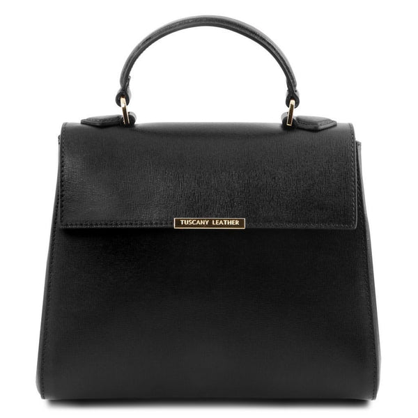 TL Bag - Small Saffiano leather duffel bag | TL141628 -  www.sanroccoitalia.it - Leather handbags