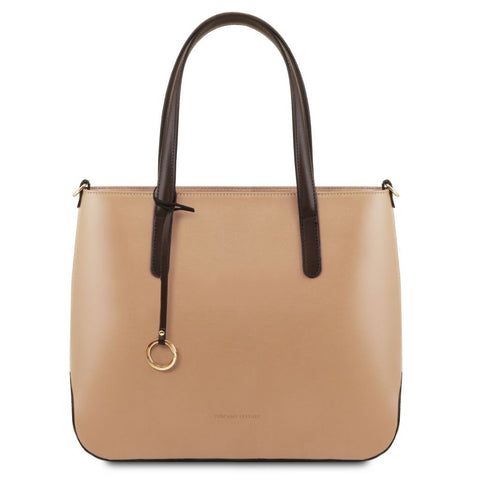 Penelope - Leather tote | TL141791 -  www.sanroccoitalia.it - Leather shoulder bags