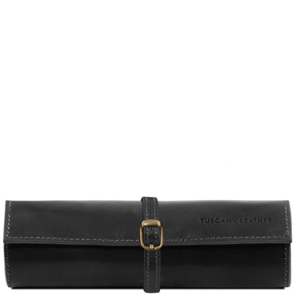 Exclusive leather jewellery case | TL141621 -  www.sanroccoitalia.it - Leather accessories for women
