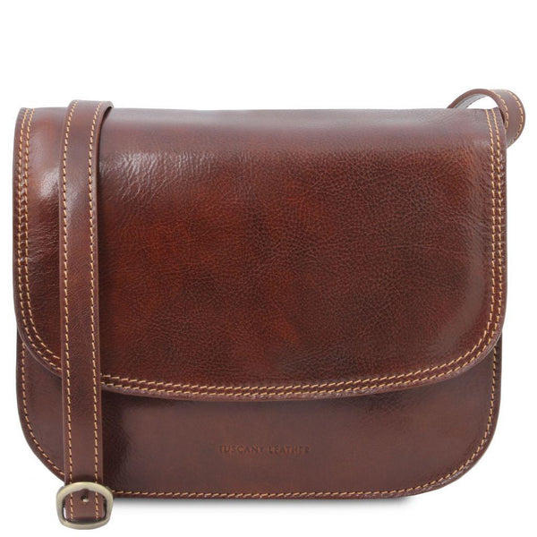Greta - Lady leather bag | TL141958 -  www.sanroccoitalia.it - Leather shoulder bags