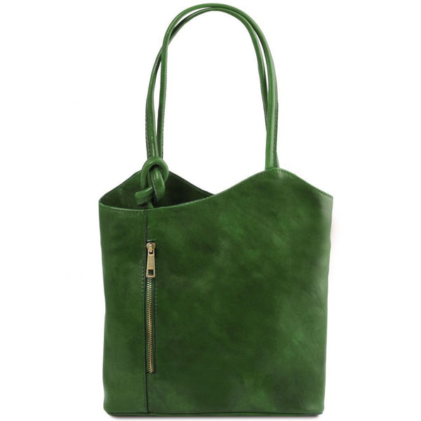 Patty - Leather convertible bag | TL141497 -  www.sanroccoitalia.it - Leather shoulder bags