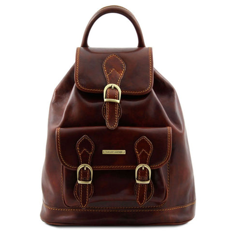 Singapore - Leather - Backpack | TL9039 -  www.sanroccoitalia.it - Leather Backpacks