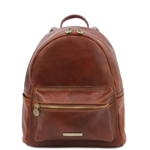 Sydney - Leather backpack | TL141979 -  www.sanroccoitalia.it - Leather Backpacks
