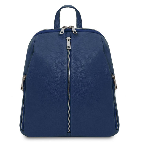 TL Bag - Soft leather backpack for women | TL141982 -  www.sanroccoitalia.it - Leather backpacks for women