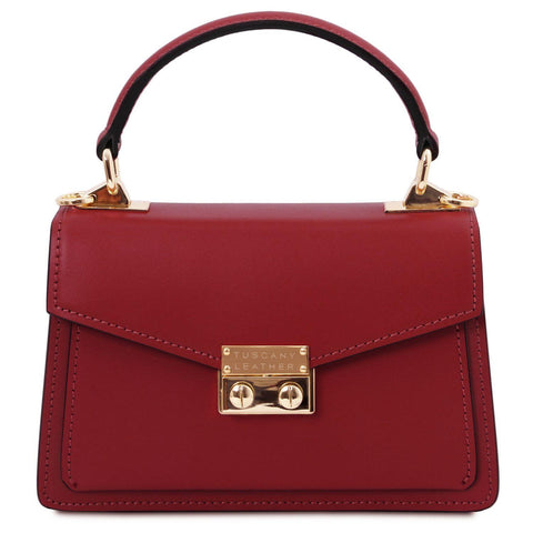 TL Bag - Leather mini bag | TL141994 -  www.sanroccoitalia.it - Leather handbags