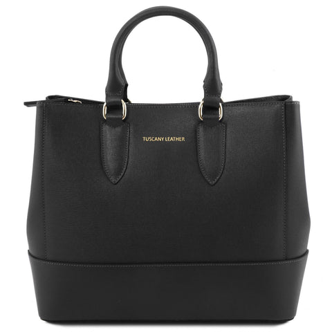 TL Bag - Saffiano leather handbag | TL141638 -  www.sanroccoitalia.it - Leather handbags